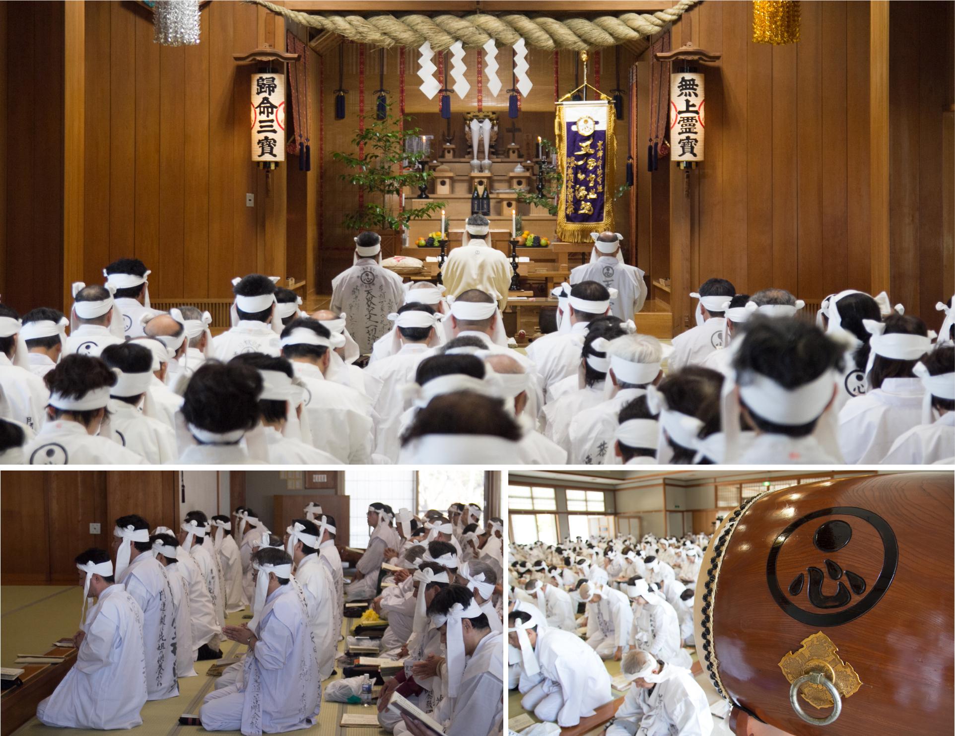 創立記念祭(お経)H29