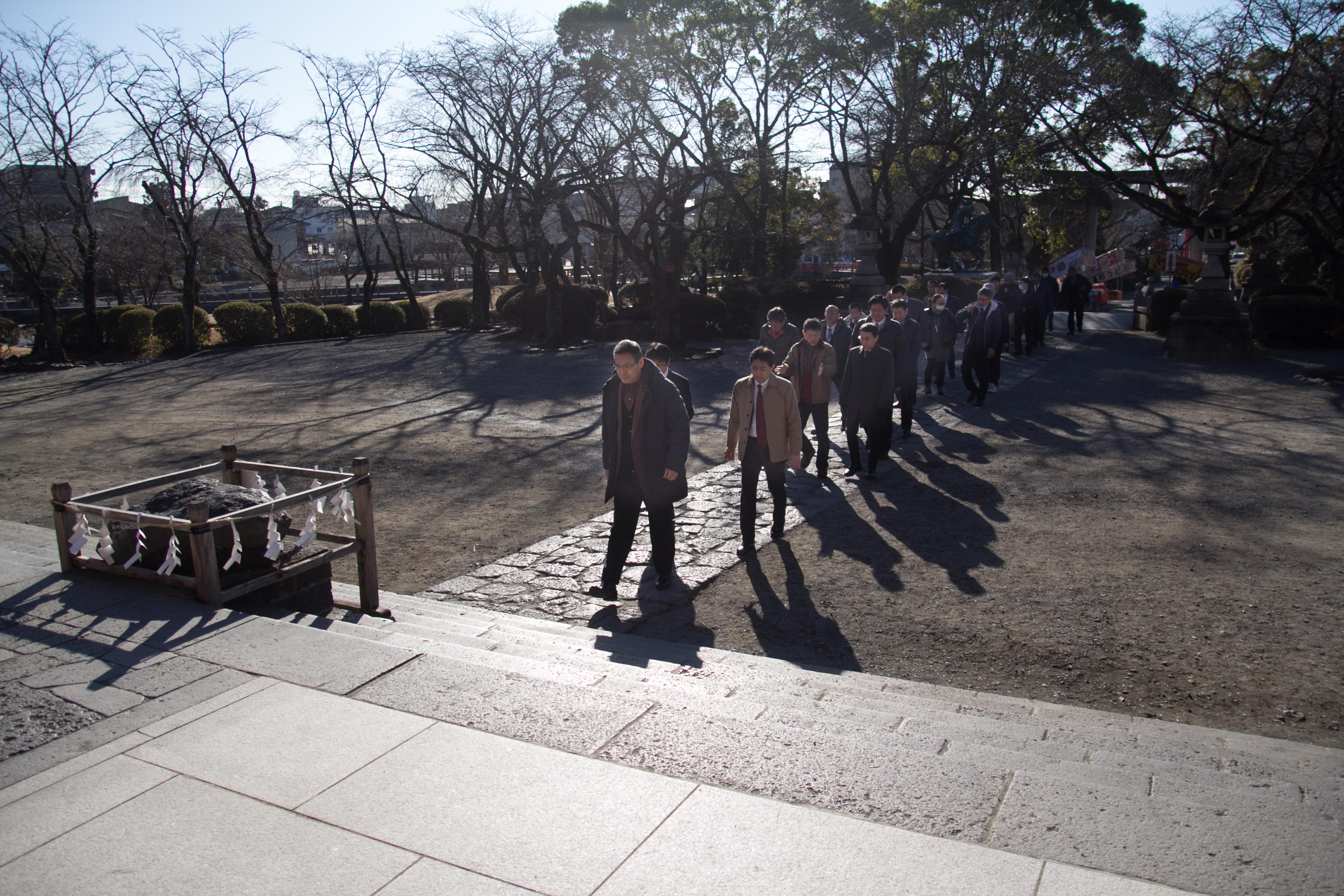 H30浅間神社参拝1