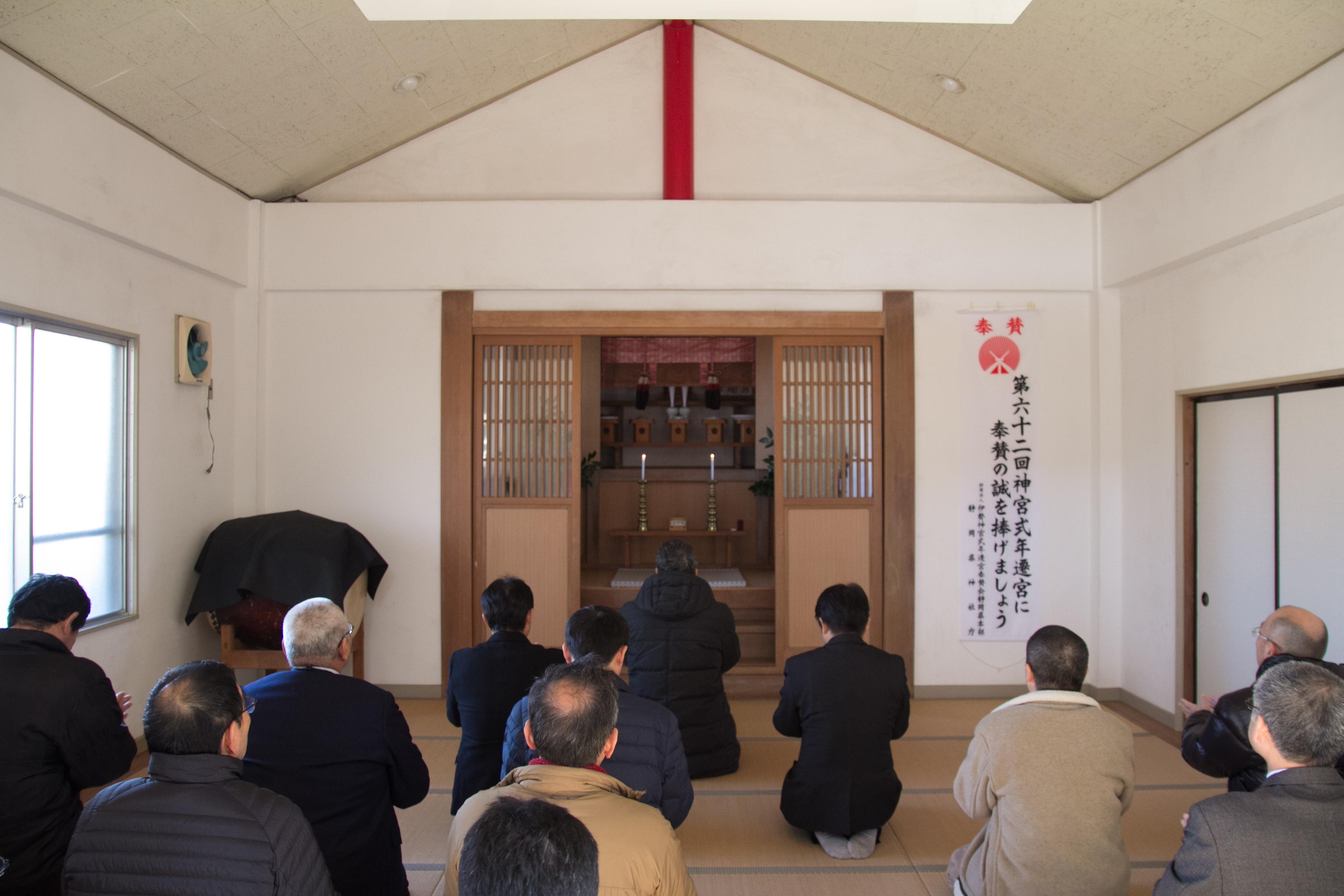 H30氏神(白髭神社)参拝1