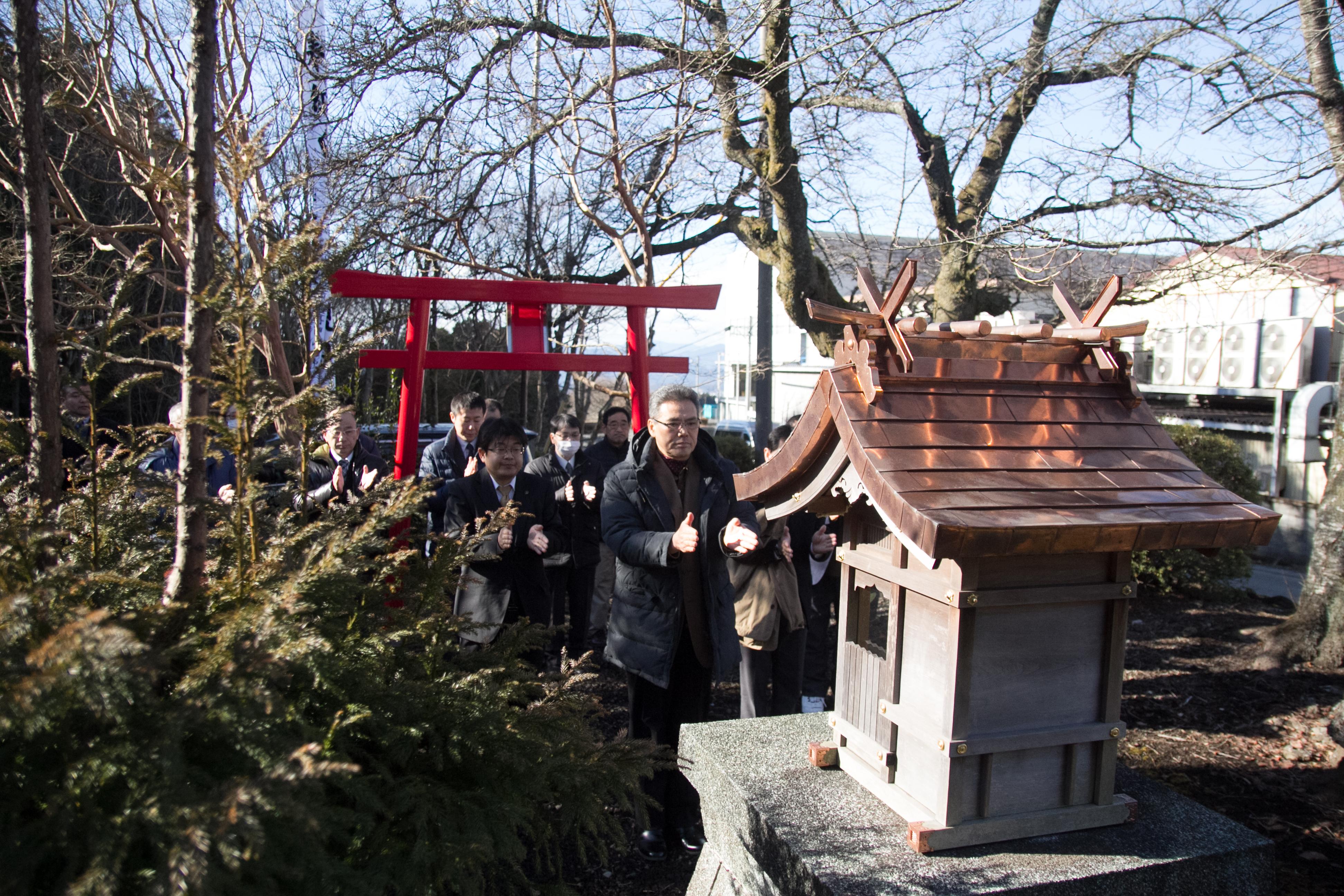 H30氏神(白髭神社)参拝2