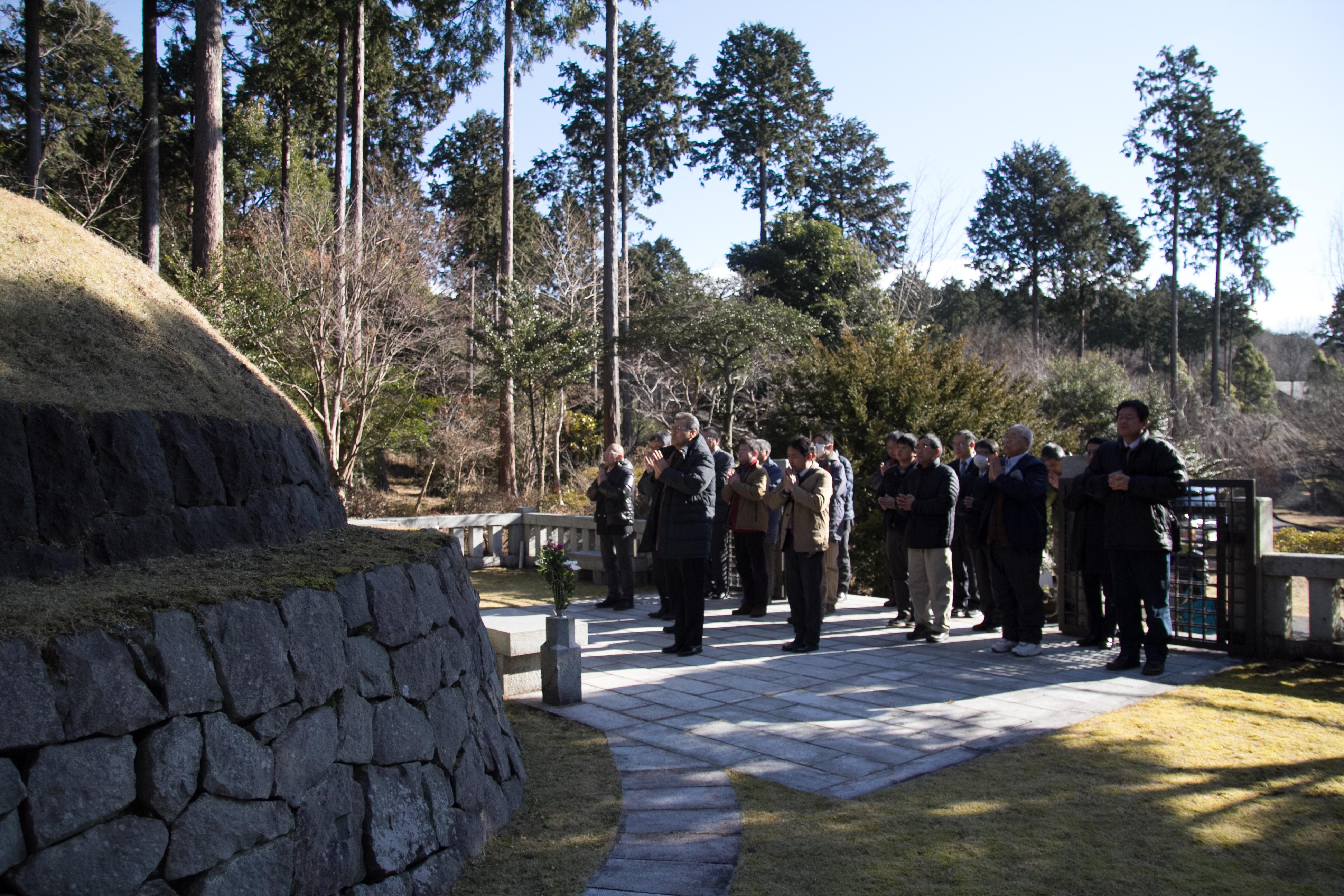 H30御霊廟参拝