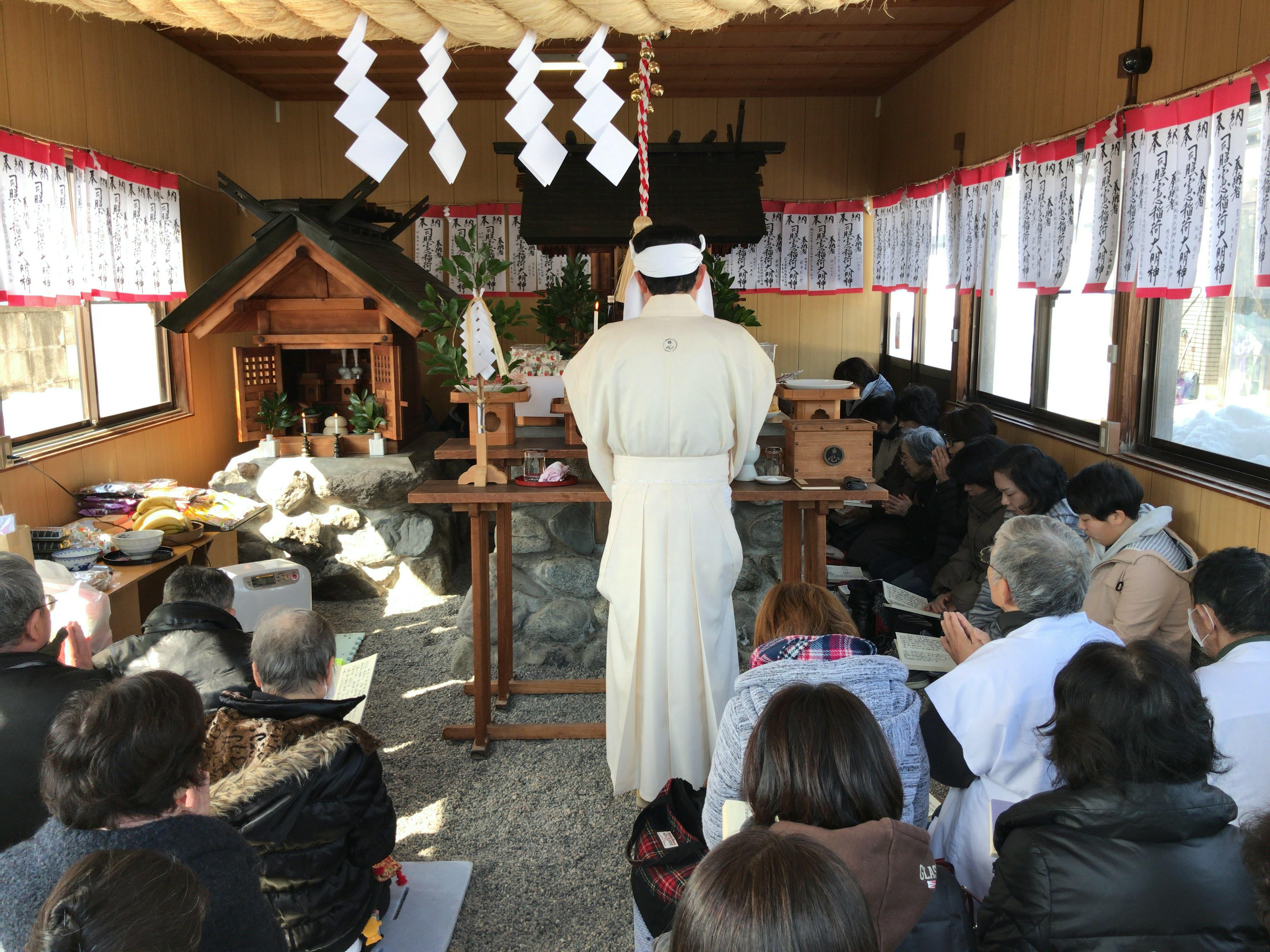 二の午祭(高岡道場)